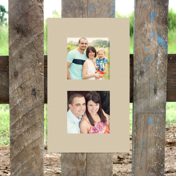 Double 4x4 Picture Frame (4x4) Wood Art Unfinished Wood Frame Wall Art