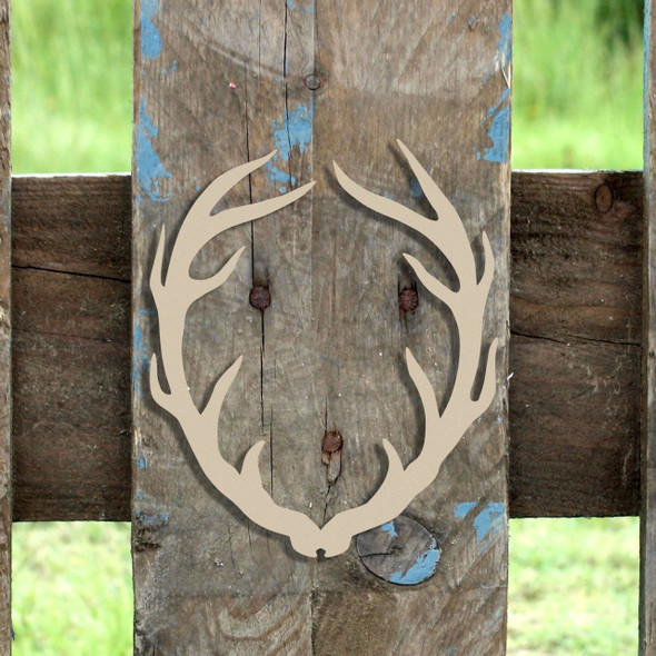 Skinny Antlers  Wooden (MDF) Cutout - Unfinished  DIY Craft