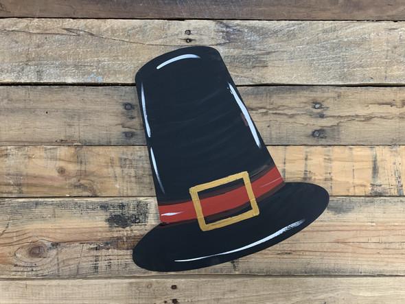 Pilgrim Hat Cutout, Wooden(MDF) Shape, Paintable DIY