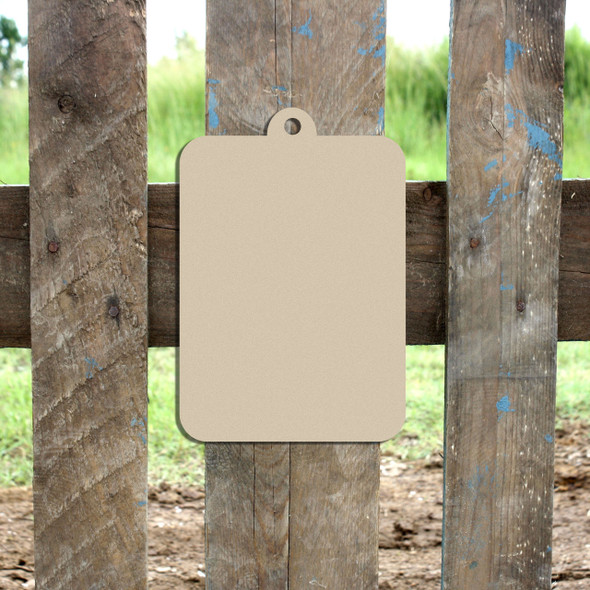 Clipboard Unfinished Cutout, Wooden Shape, Paintable Wooden MDF DIY Craft