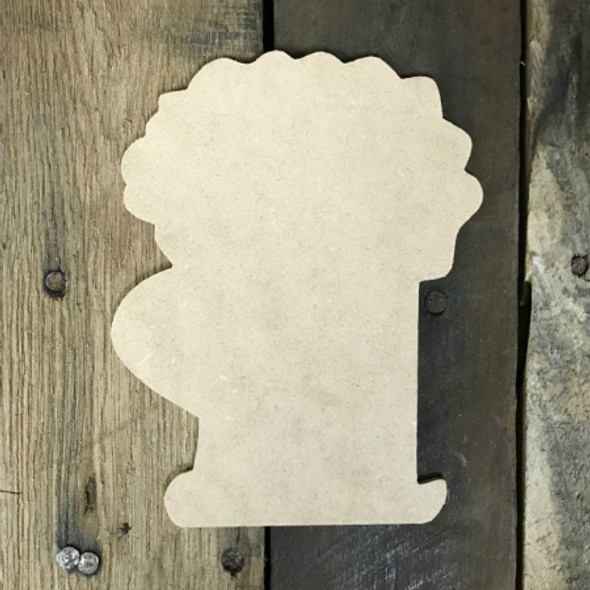 Special Mug Unfinished Cutout, Wooden Shape, Paintable Wooden MDF