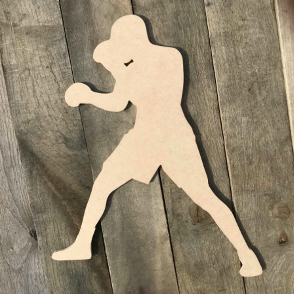 Boxer Orthodox Boxing Fighter Unfinished Sport Shape