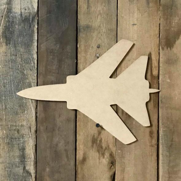 Jet Wooden Shape, Paintable Wooden MDF