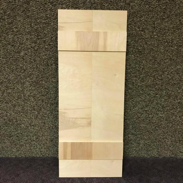 44'' Large Shudder, Unfinished Wood Shudder, White Pine, Photo Prop