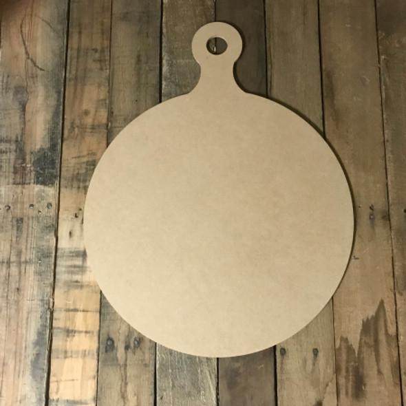 Circle Bread Board,  Craft Unfinished Wood Shape, Wood Cutout