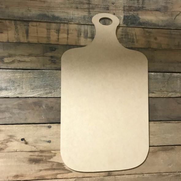 Bread Board 2, Craft Unfinished Wood Shape, Wood Cutout