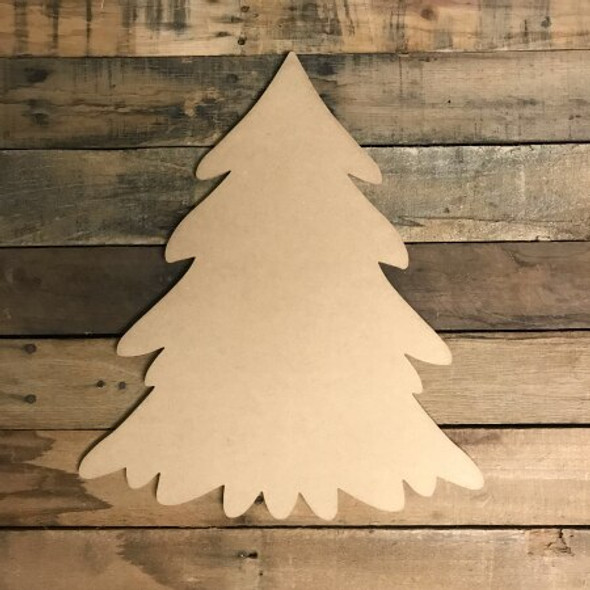 Ordinary Christmas Tree Craft Unfinished Wood Shape