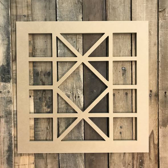 Unfinished Wall Wood Cathedral Arch Window Decor,  Wooden Cutout Craft