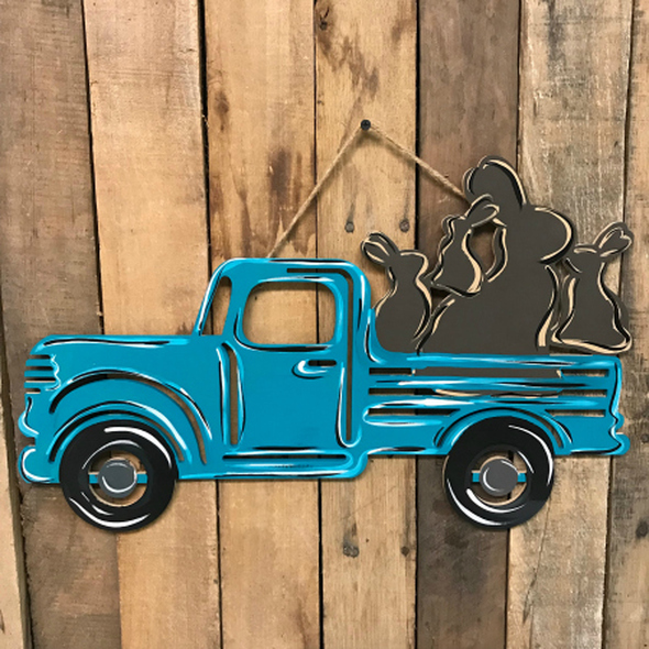 Tutorial Chocolate Bunny Truck