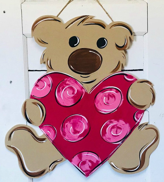 Tutorial Valentine Teddy DIY