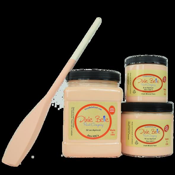 Apricot Chalk Mineral Paint, Dixie Belle