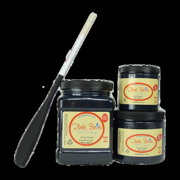 Caviar Chalk Mineral Paint, Dixie Belle