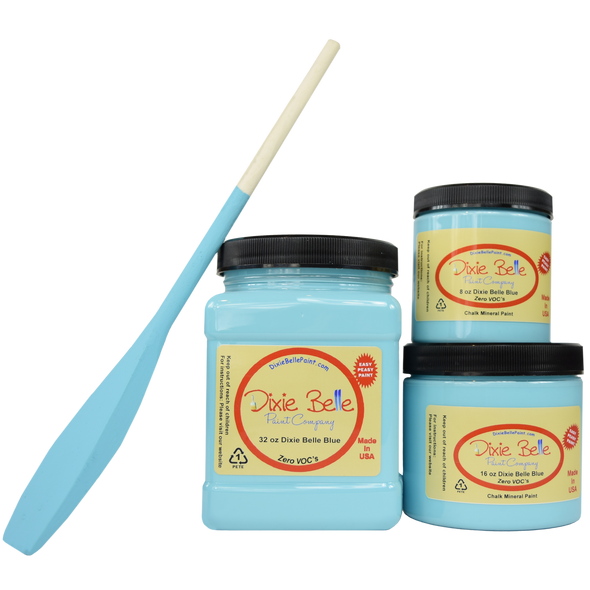 Dixie Belle Blue Chalk Mineral Paint, Dixie Belle