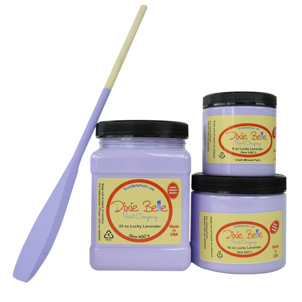 LUCKY LAVENDER CHALK MINERAL PAINT