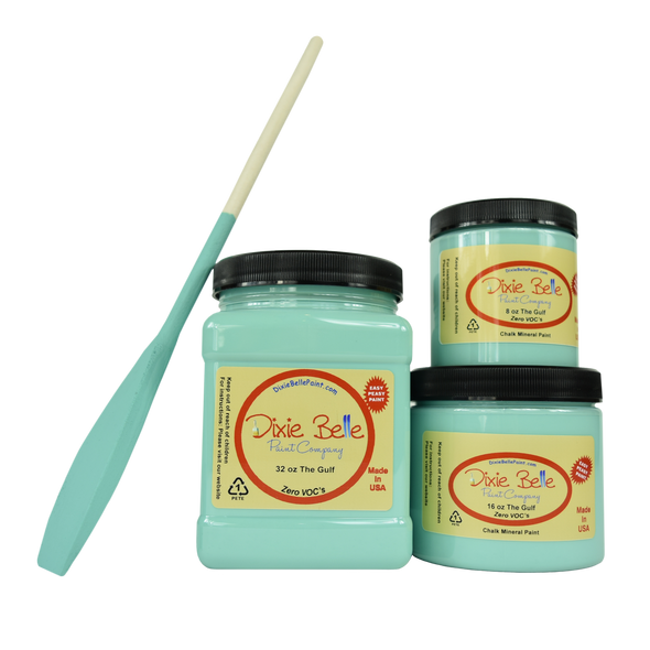 The Gulf Chalk Mineral Paint, Dixie Belle