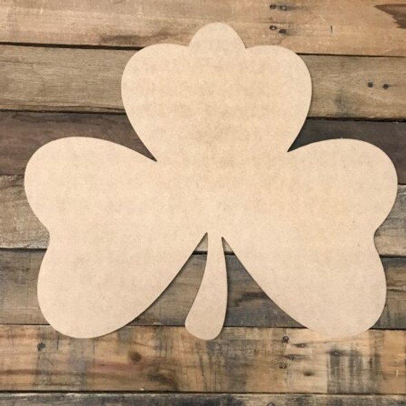 Shamrock Unfinished Cutout