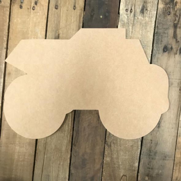 Dumptruck, Unfinished Cutout, Craft Wood Shape