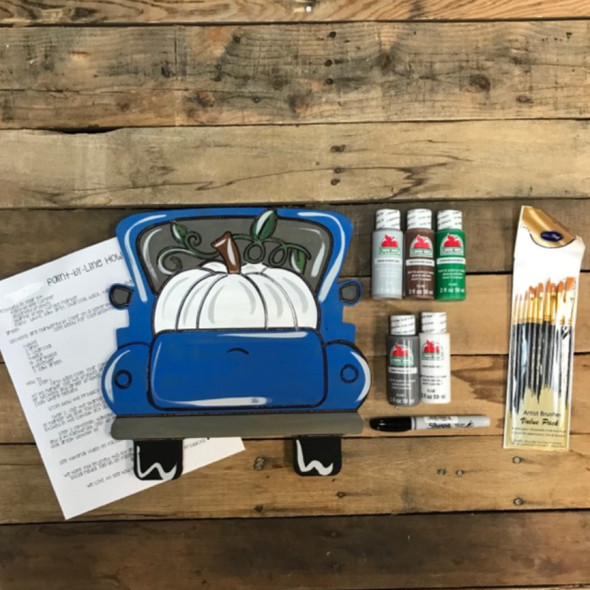 Vine Pumpkin Truck Paint Kit, Video Tutorial and Instructions