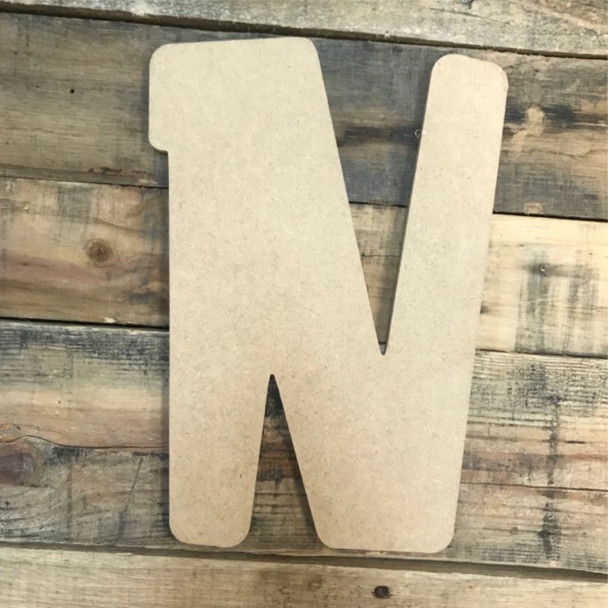 Block letter N come as arts and crafts letters.