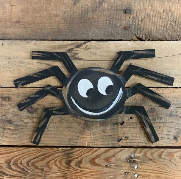 Spider, Paintable Shape, Unfinished Cutout, Craft Wood Shape