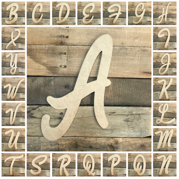Where to find Wooden Letters? Build-A-Cross is a one stop shop to buy big wooden letters!