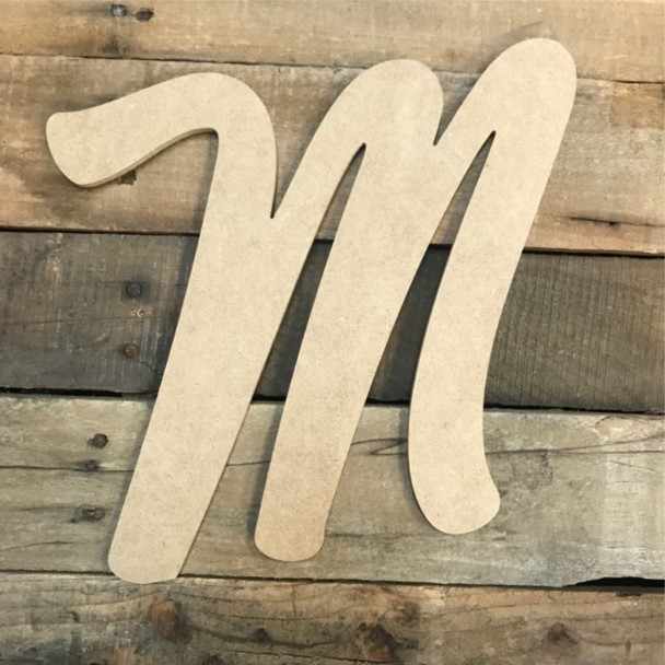 Cheap wooden letters are great big wooden letters.