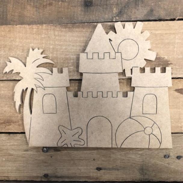 Seasonal palace Cutout crafts from Truck Kit