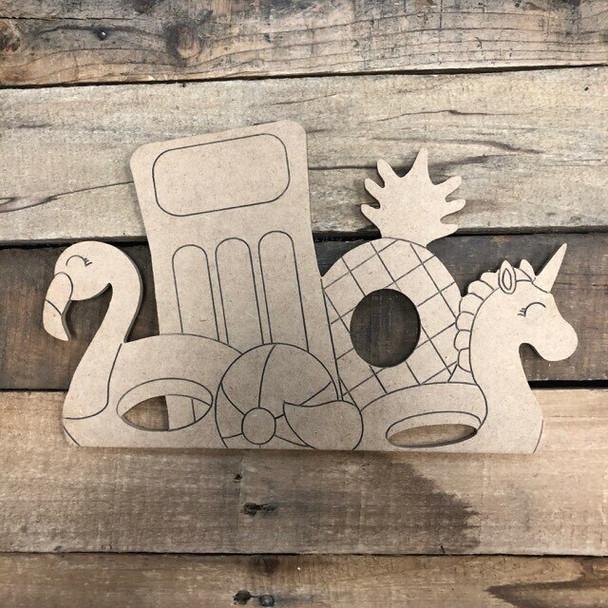 Seasonal duck Cutout craft from Truck Kit