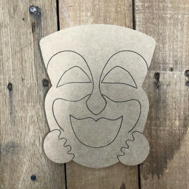 Gnome Seasonal Wood Cutout MASK