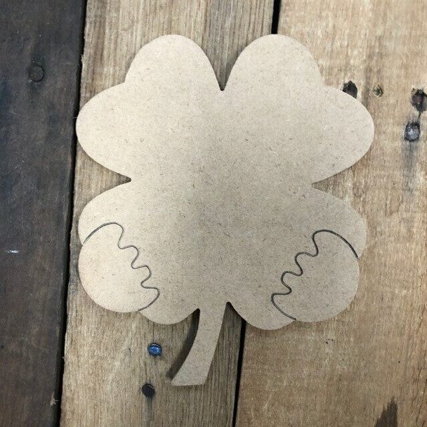 Gnome Seasonal Wood Cutout Flower