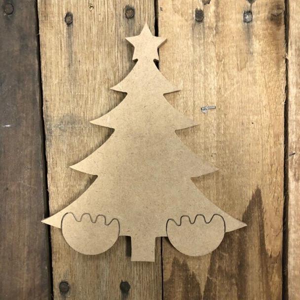 18'' Gnome Set Seasonal Shapes-christmas tree