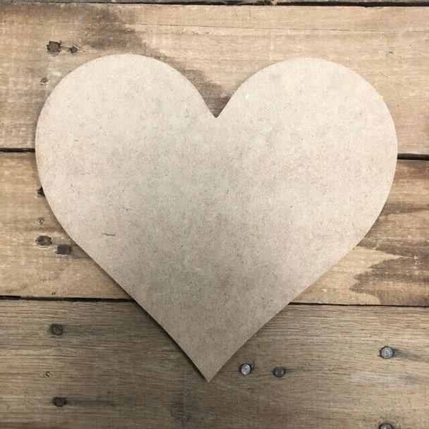 HOME Seasonal Set Wood Cutout-heart