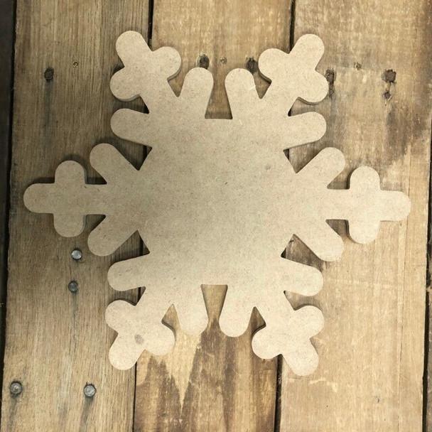 HOME Seasonal Set Wood Cutout-Snow