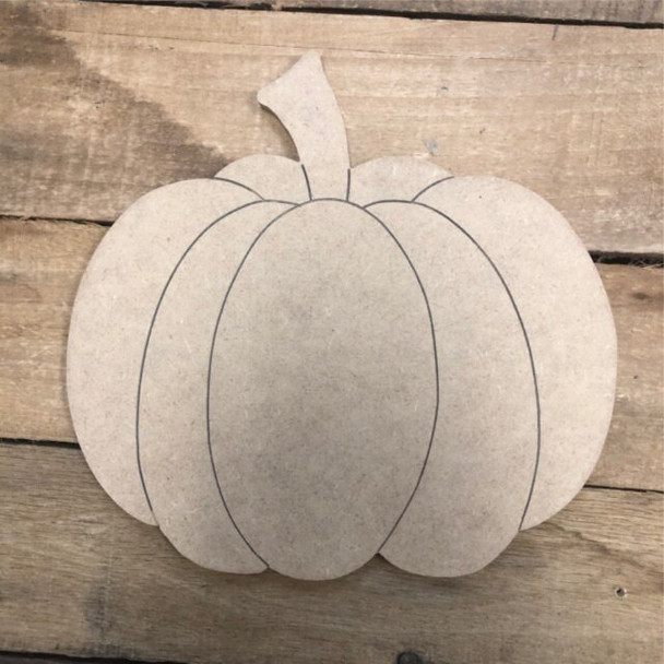 Shapes for Welcome Home Circle Home Plaque-Pumpkin