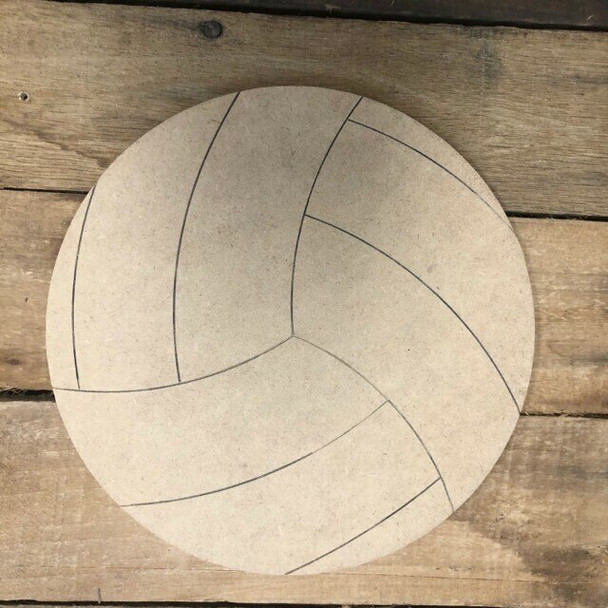 Shapes for Welcome Home Circle Home Plaque-volleyball