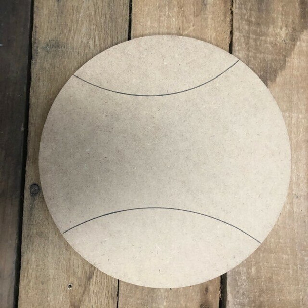 Shapes for Welcome Home Circle Home Plaque-football