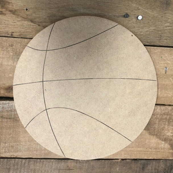 Shapes for Welcome Home Circle Home Plaque-basketball