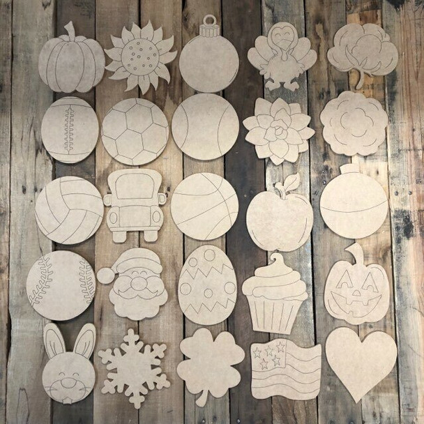 Shapes for Welcome Home Circle Plaque