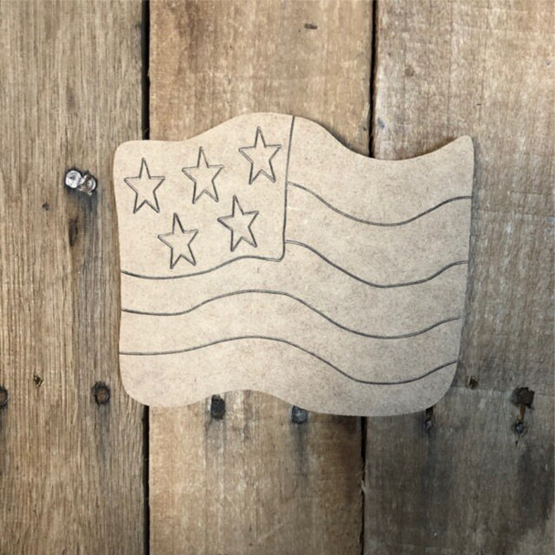 Shapes for Welcome Home Circle Plaque-flag