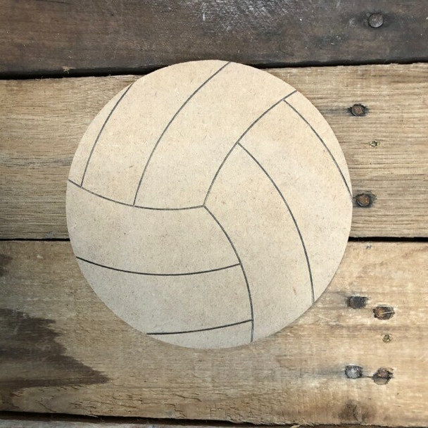 Shapes for Welcome Home Circle Plaque-volleyball