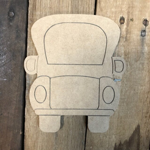 Shapes for Welcome Home Circle Plaque-truck