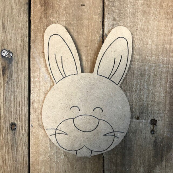 Shapes for Welcome Home Circle Plaque-rabbit