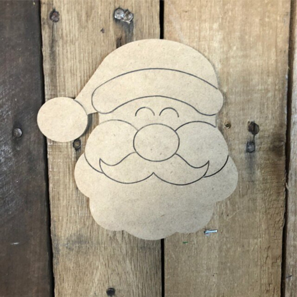 Shapes for Welcome Home Circle Plaque-santa