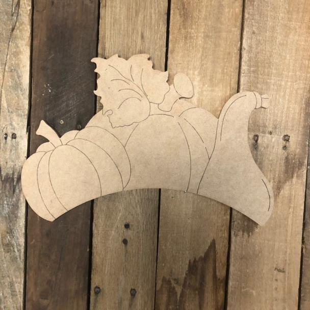 Seasonal Shapes from 18'' Wheelbarrow Kit, Paint by Line, Cutout