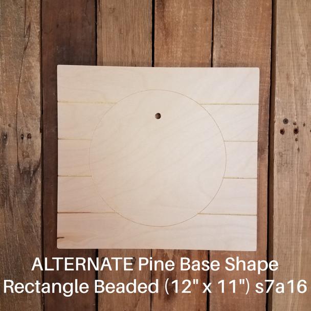 Home Laurel Stackable Circle Easel Kit, Engraved DIY Craft Decor Set