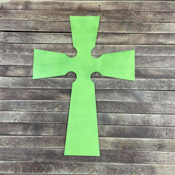 Celtic Cross Craft Cutout, Unfinished Wooden Shape