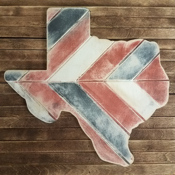 Texas Bohemian Pattern Pine State, Unfinished Paint by Line