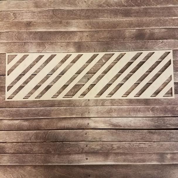 Chevron Wall Art Décor, Wooden Craft Shape