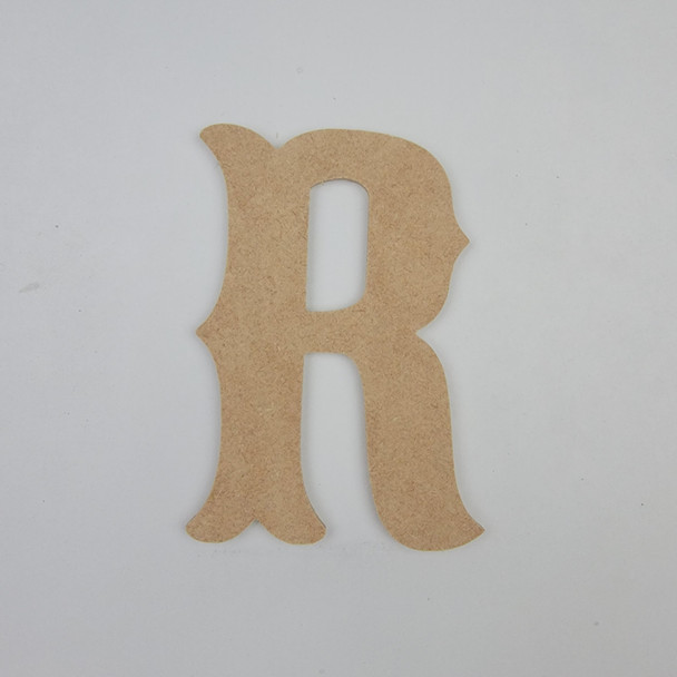Circus Fun Font, Unfinished Wooden Craft Letters