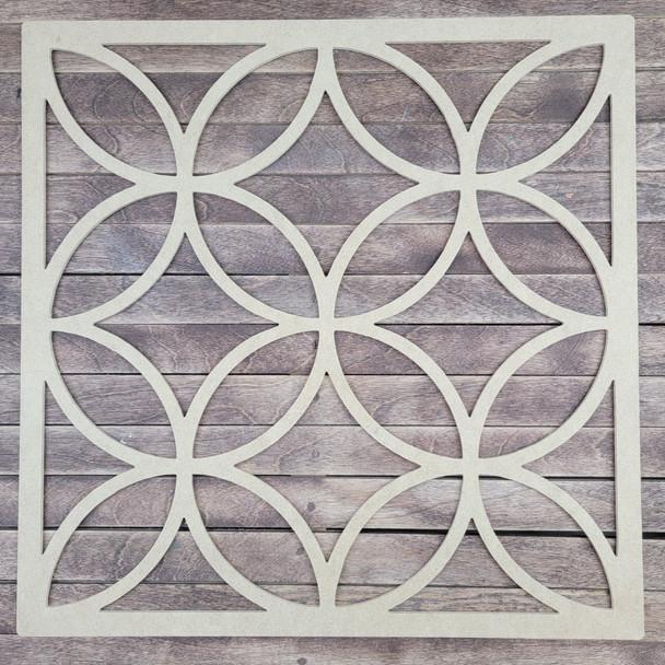 Rubi Barcelona Mexican Design Boho Art, Wood Craft Cutout